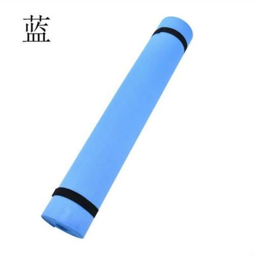 Extra Thick Extra Long Yoga Mat Non-Slip Exercise Pilates Gym Camping Straps-UK