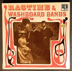 RARE-Ragtime-amp-Washboard-Bands-LP-SFP-53-004-France-Jazz-Ragtime