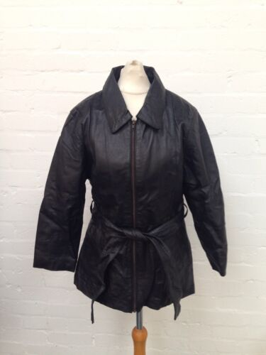 Retro Leather Uk8 Jacket Et Womens Condition Good Vous CvqTwwnpd