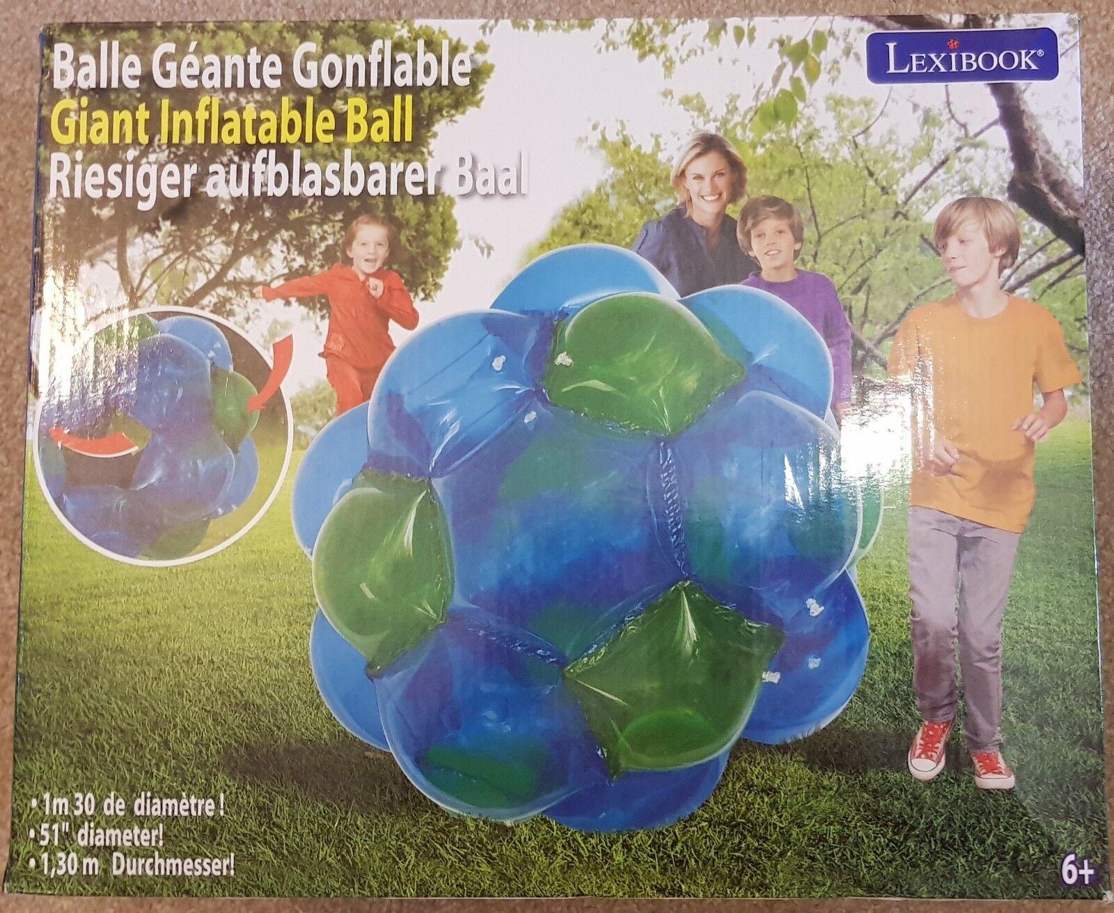 Lexibook BG100 géant gonflable jeu de de jeu balle, 51 pouces 8372ed