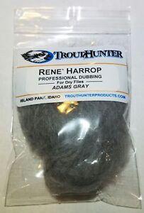 TroutHunter Rene Harrop Professional Dubbing for Dry Flies Caddis Green