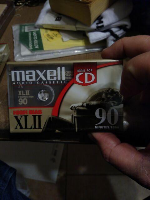 Maxell XLII High Bias Cassette Tape NEW SEALED RARE HI OUTPUT