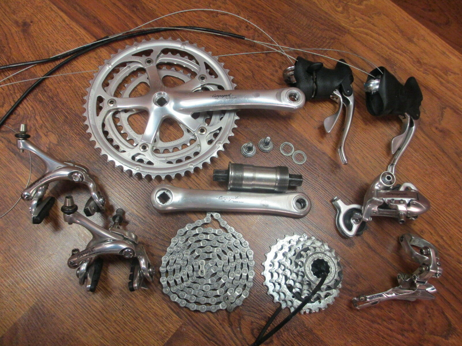 CAMPAGNOLO VELOCE 8 SPEED TRIPLE 175 52 42 32 GROUP COMPLETE BUILD KIT GRUOP