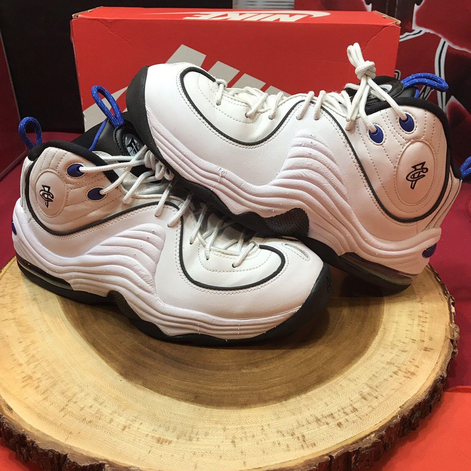 timeless design 5f4ba e95ee Nike Nike Nike Air Penny II Blanco Negro Magic cómodos zapatos nuevos para  hombres y mujeres