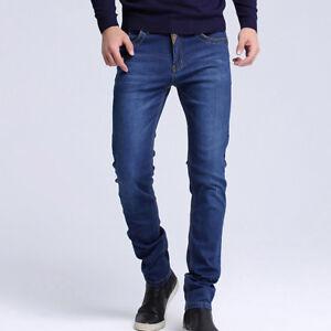 Hombres jeans de moda para hombre Ropa Pantalones nuevo estilo delgado Pantalón