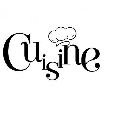 CUISINE  - Stickers Porte  Cuisine Vinyle  Deco Interieur