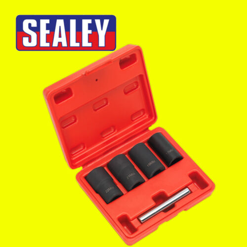 19 1//2in Sq Drive 21 22 mm Sealey SX201 Verrouillage Roue Nut Removal Set 17