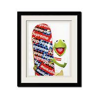 Supreme x Kermit x Terry Richardson Urban Street Poster Print