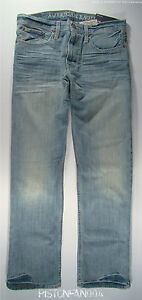 Jeans Nwt American rilassati Eagle Light Whisker 32x32 Mens qawIFxR