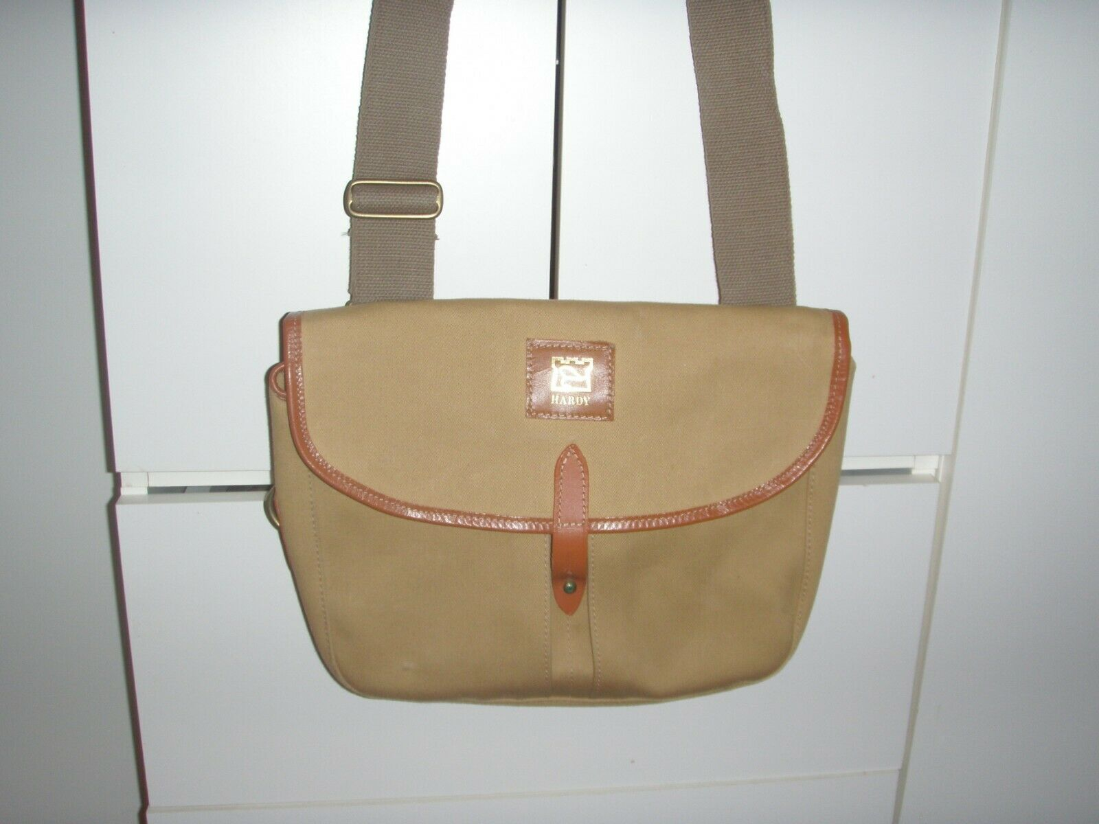 Hardy Vintage Fishing Canvas Gear Bag  Model Aln New  40% off