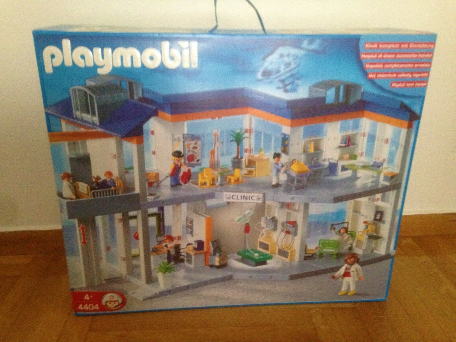 Playmobil 4404 Hospital   Clinic Hard to Find New & Sealed