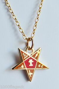 Order-of-the-Eastern-Star-Cut-Out-Masonic-Freemasonry-Pendant-K001P
