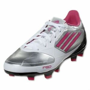 Details about ADIDAS F30 ADIZERO TRX FG Silver Pink Soccer Cleats NEW Womens 6 6.5 8 8.5 9 11