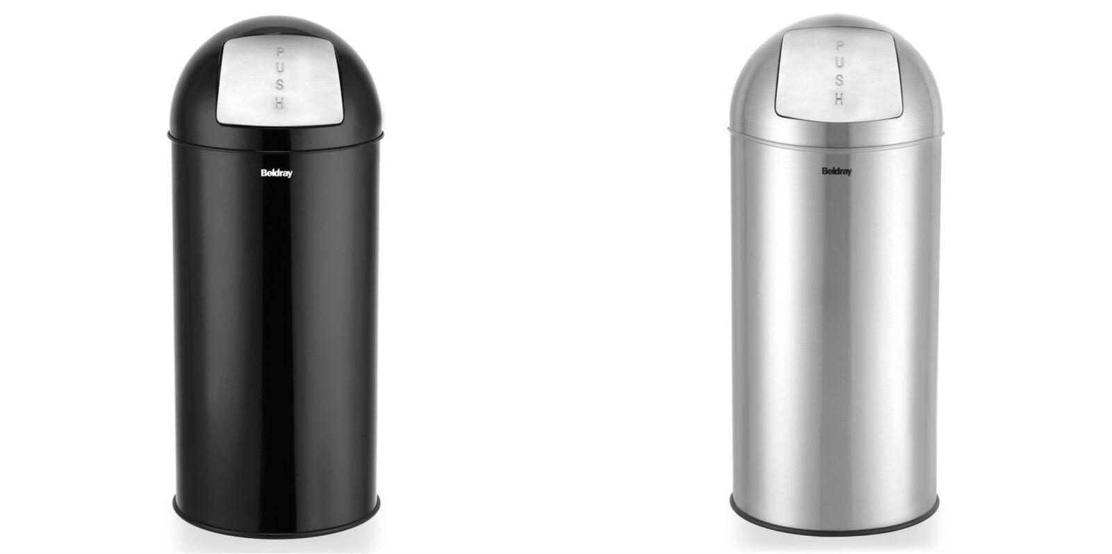 New Design household Essential Waste bin Push Bin 40L