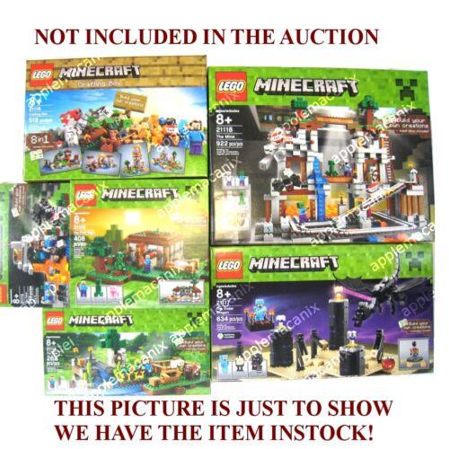 NEW LEGO 21118 Minecraft The Mine SKELETON Minifigure Figure w//Bow and Arrow