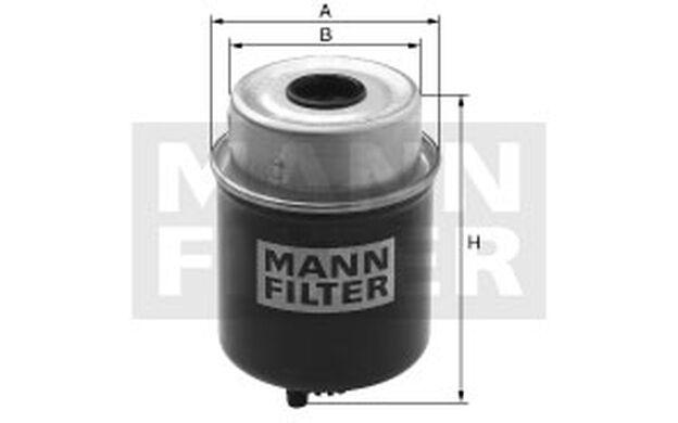 MANN-FILTER Filtro combustible FORD TRANSIT LDV CONVOY LTI TX AUSTRALIA WK 8105