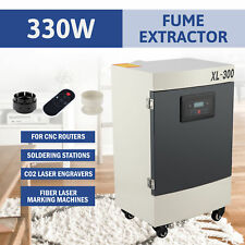 330w Air Purifier 5 Stage Filter Fume Extractor For Laser Marking Machines More