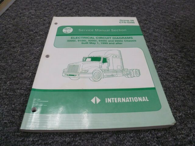 Wiring Diagram International 9100i