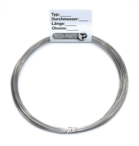 0,12mm 95Ohm//m Nikrothal 80   Widerstandsdraht Heizdraht Kanthal Wire AWG 37