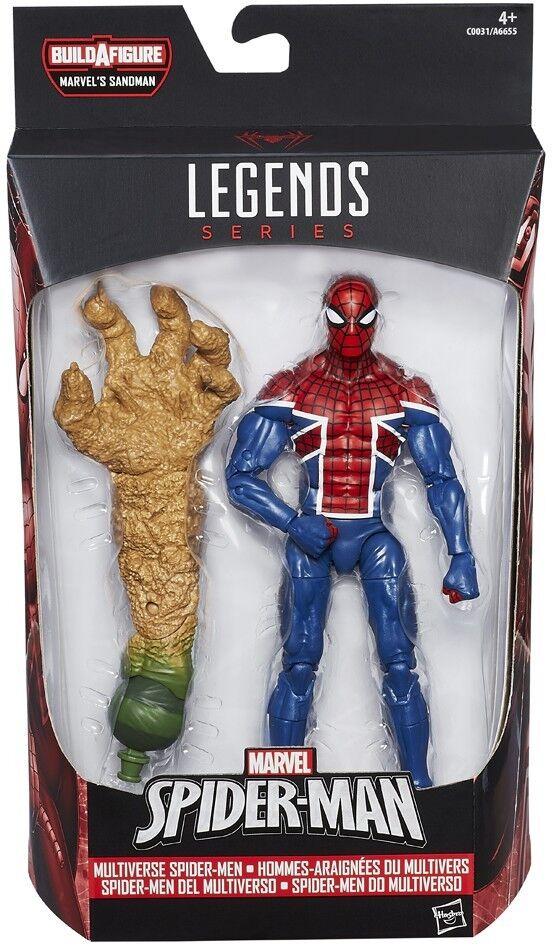 Marvel Legends Sandman Series Spider UK Action Figure