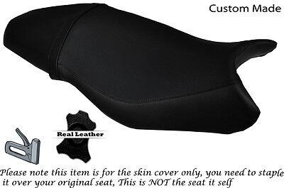 DESIGN 2 BLACK STITCH CUSTOM FITS TRIUMPH DAYTONA 675 06-12 FRONT SEAT COVER