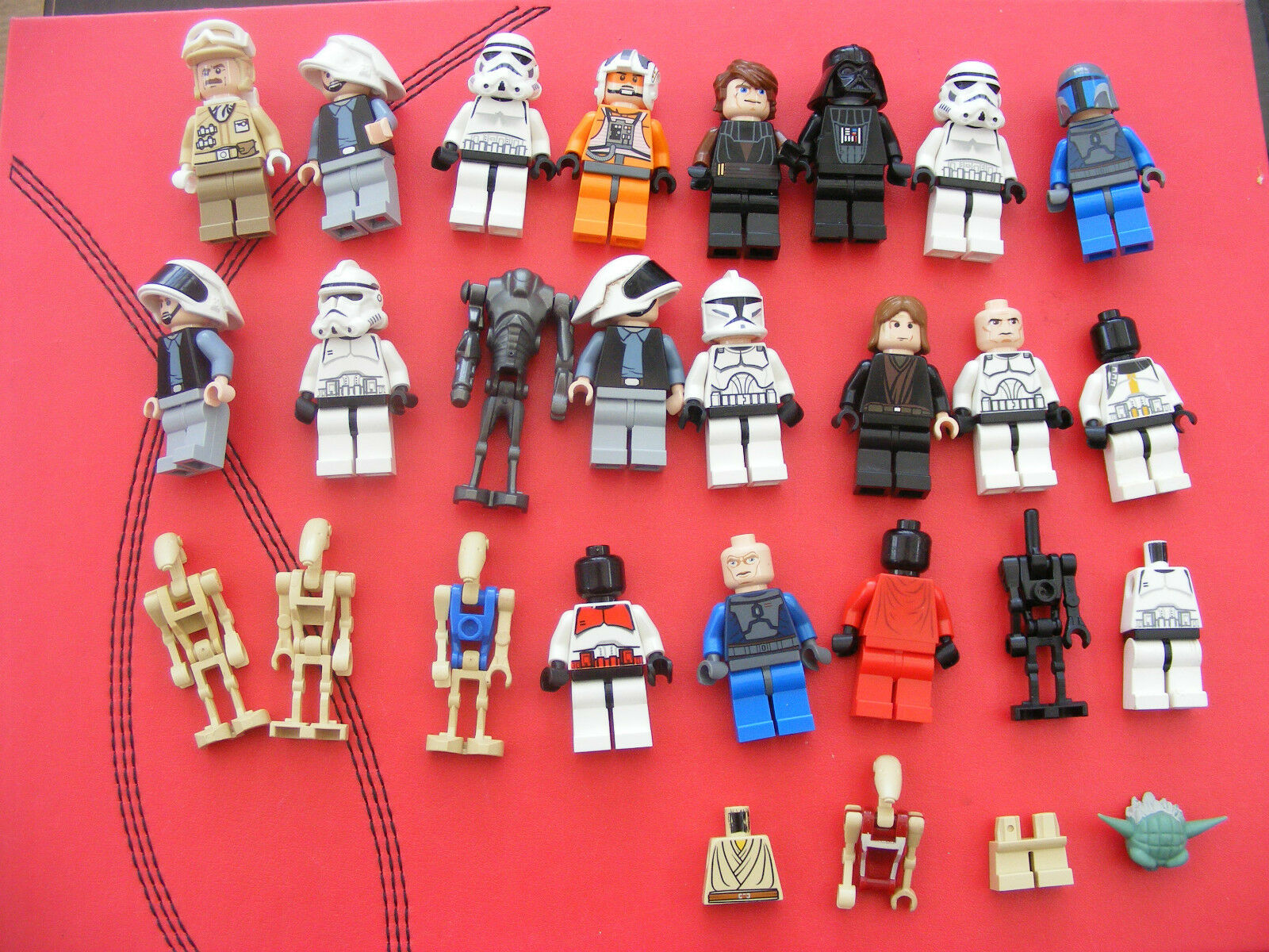 LEGO Star Wars bundle 2 and some spares l@@k VERY NICE ref338