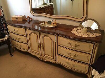 Vintage Drexel Bedroom Furniture Set- Touraine, French ...