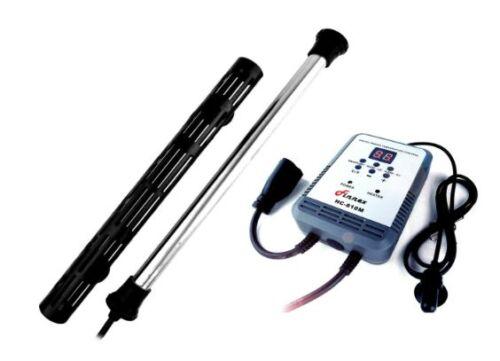 Finnex Titanium Aquarium Heater 500w or 800w, Optional Digital Controller *BEST*