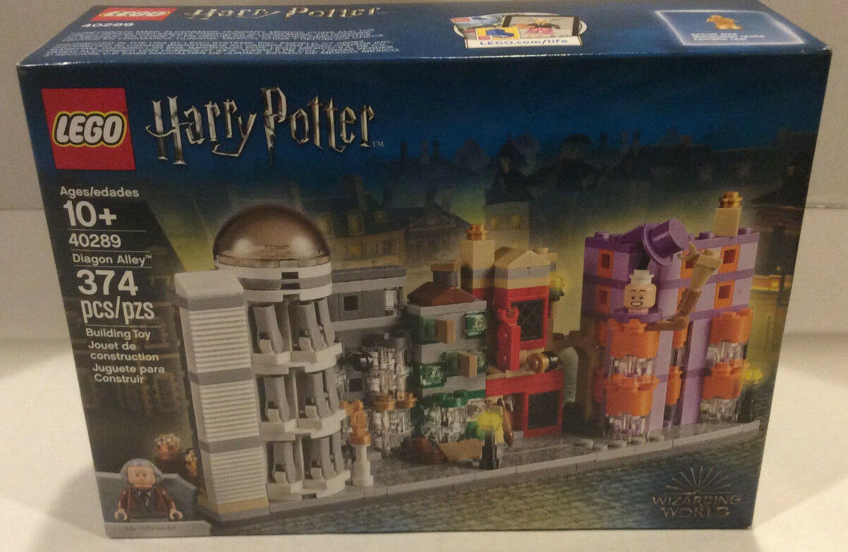 LEGO Harry Potter Exclusive Set 40289 Diagon Alley - NEW, SEALED