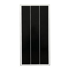 Panel solar panel solar 12v 12 voltios monocristalino Caravana Autocaravana 100 vatios 100w