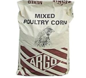 MIXED-POULTRY-CORN-20kg-Argo-Bird-Feed-Waterfowl-bp-Pet-Duck-Fowl-Chickens