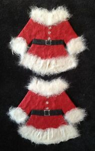 6-Santa-suits-Suit-Handmade-Mulberry-Paper-St-Nick-Christmas-tear-bears-piecing