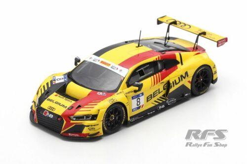 Audi R8 LMS FIA GT Nations Cup Bahrain 2018 Team Belgien  1:43 Spark 6308 NEU
