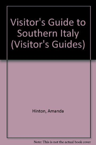 Visitor's Guide to Southern Italy (Visitor's guides), New Books