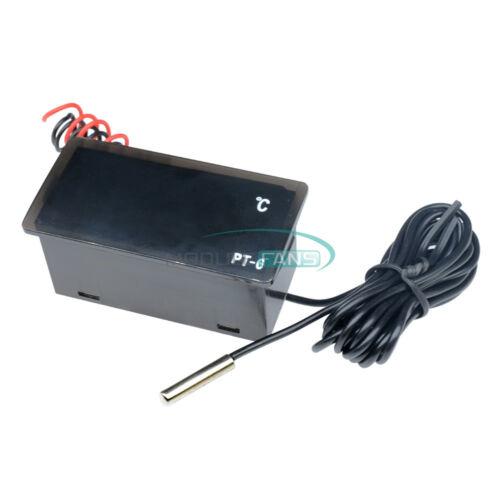 110 ℃ Sensor PT-6 220V Digital Thermometer Temperature Meter Aquarium 50 ℃ ~