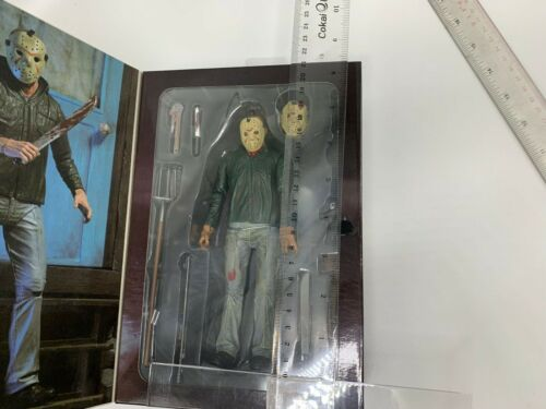 """Friday the 13th Part 3 3D Jason Action Figure Doll Toy 7/"""""""