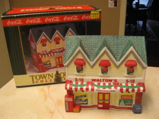 COCA COLA TOWN SQUARE BUILDING - WALTON'S 5 & 10 - 1996 - RETIRED