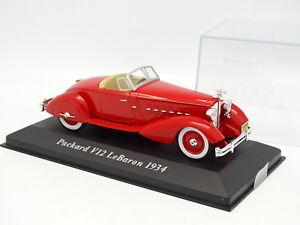 Ixo-Presse-1-43-Packard-V12-Le-Baron-1934