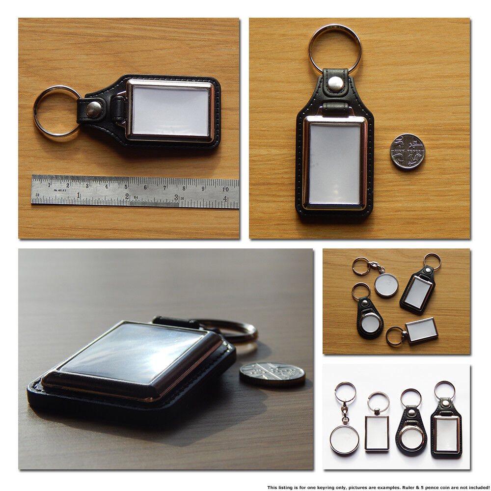 VAUXHALL CORSA VXR Sport Hatch Back Car Koolart Leather and Chrome Keyring
