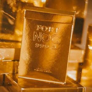 Fort-NOC-Playing-Cards-Gold-Limited-Edition-Marked-Deck