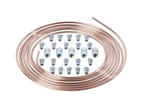 Bremsleitung-5m-Meter-Rolle-Kupfer-Nickel-4-75-20-Verschraubungen-5-Verbinder