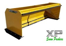 7 Xp30 Cat Yellow Snow Pusher Skid Steer Loader Local Pick Up