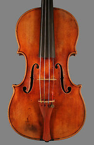 A-SUPERB-French-violin-by-Nicolas-Vuillaume-ca-1850-beautiful-Guarneri-model