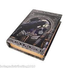 Anne Stokes Talisman Book Box Caja Para Cartas Tarot Raven Wican Night Trinket