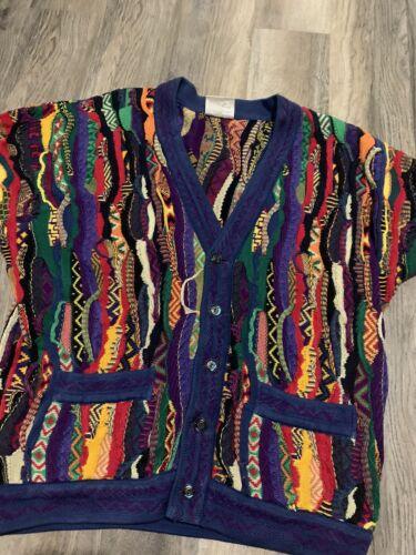 coogi sweater Cardigan (large)