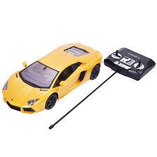1:14 Lamborghini Aventador LP700-4 Radio Remote Control RC Car Yellow New