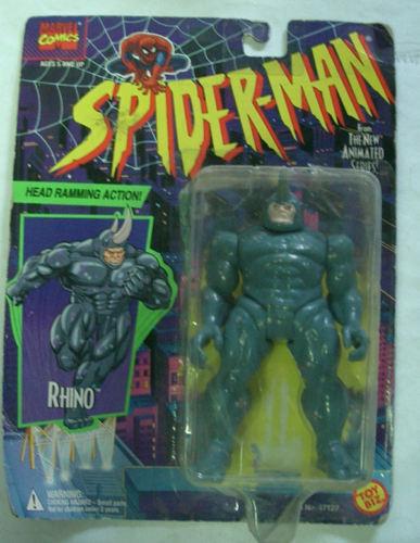 Spider - man nashorn toybiz 1994 moc seltene
