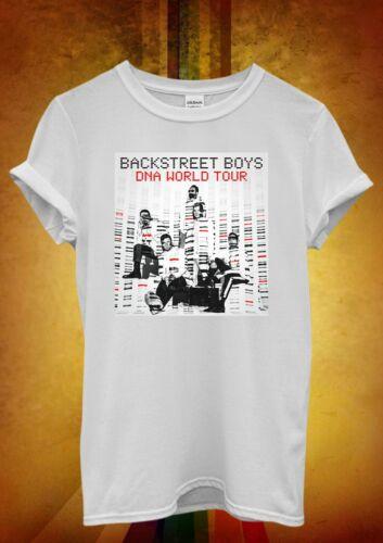 Backstreet Boys DNA Tour 2019 Concert Ladies Women Men Unisex Baggy T Shirt 2228