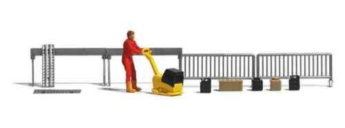 HS Busch 7804 rüttelplatte con lavoratori edili