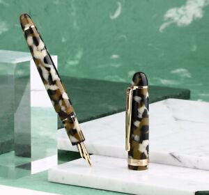 New-Arrival-Moonman-S3-Acrylic-Fountain-Pen-Fine-Extra-Fine-Nib-Colorful